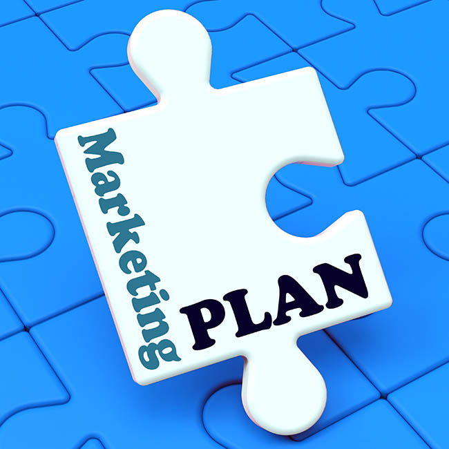 Marketing Plan Showing Development Planning And Advertising Strategy