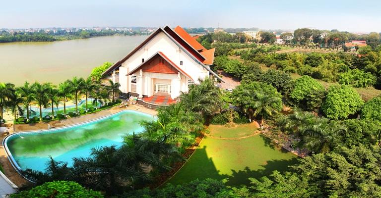 Địa điểm tổ chức ngày hội gia đình family day Sông Hồng Resort