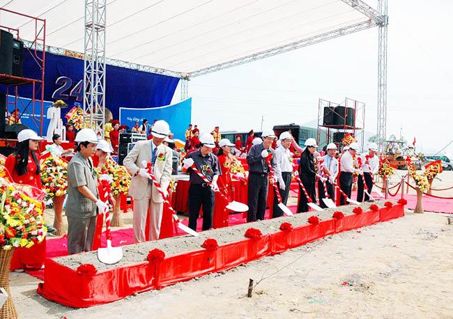 Tổ chức Lễ khởi công tại Bình Phước