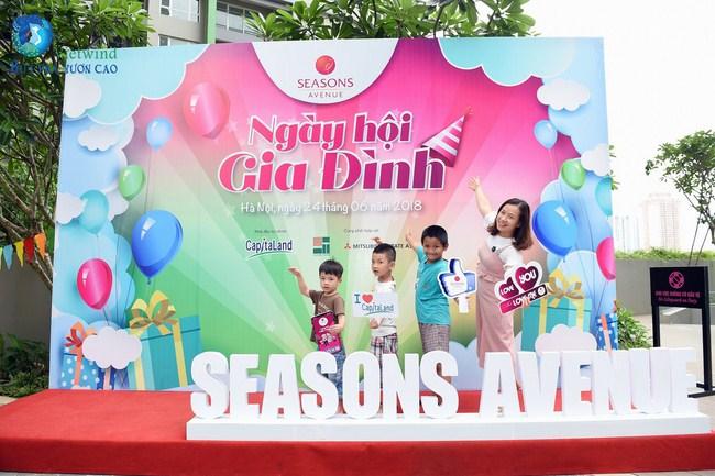 Ngày hội gia đình Seasons Avenue 2018 - cong ty to chuc family day chuyen nghiep vietwind