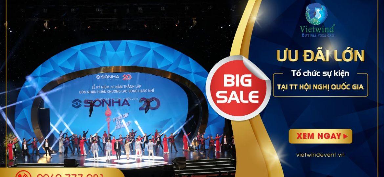 giảm giá tại trung tâm hội nghị quốc gia